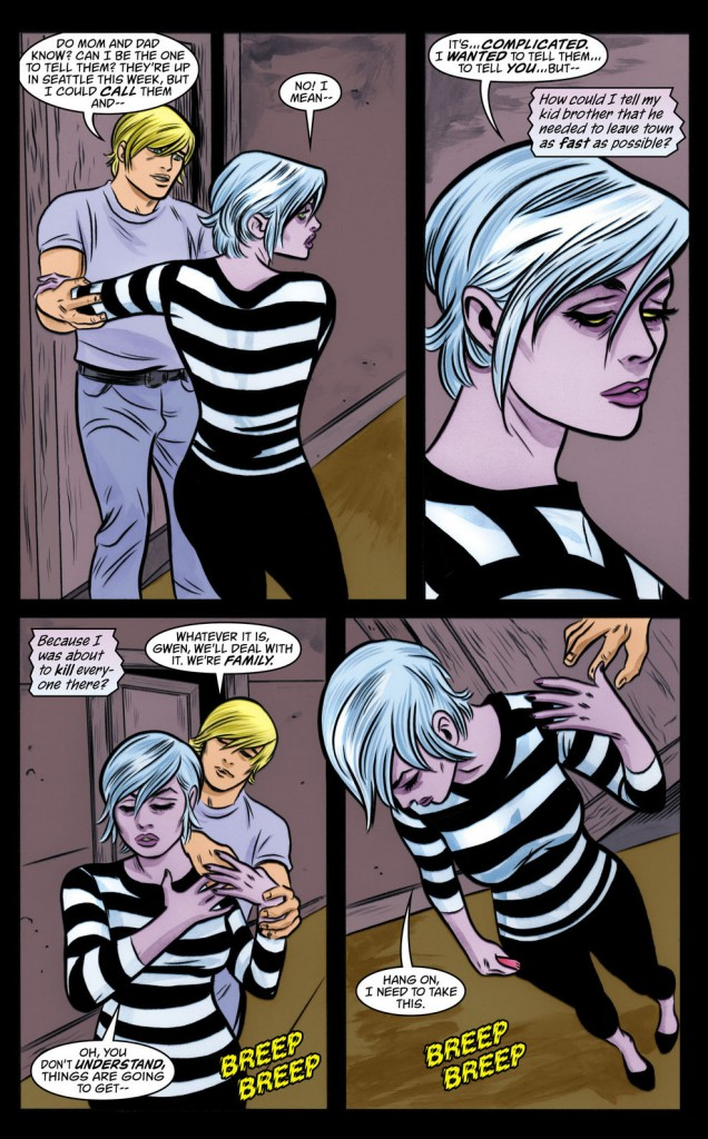 Page from IZombie